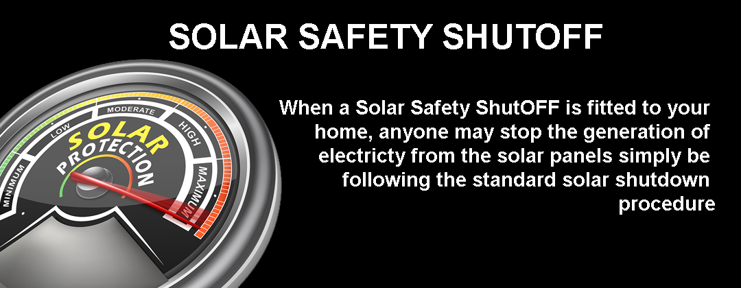How it works | Solar Safety ShutOFF |
