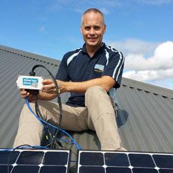 Solar Safety ShutOFF Install