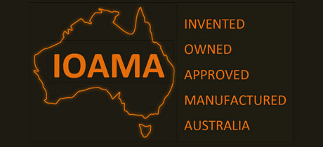 IOAMA: Invented, Owned, Approved, Manufactured, 100% Australian
